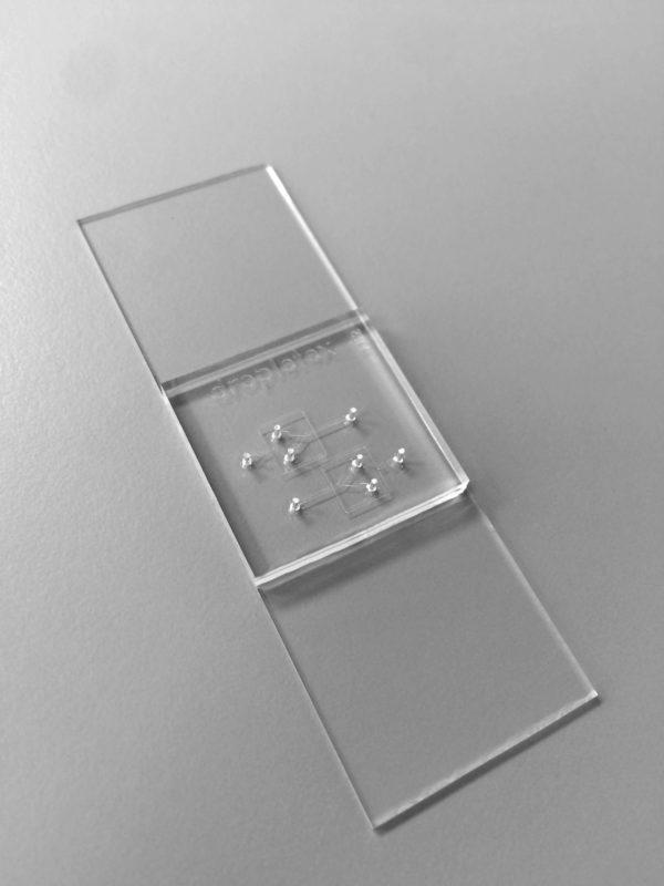F02 flow focusing microfluidic droplet generator